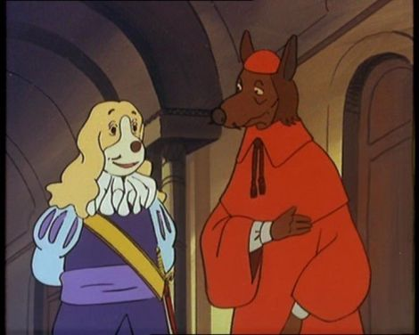 Dogtanian_King_Louis_and_Richelieu