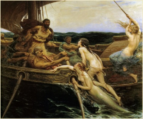 Herbert_James_Draper,_Ulysses_and_the_Sirens,_1909