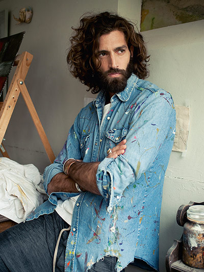 Men's fashion: Free Expression - in pictures