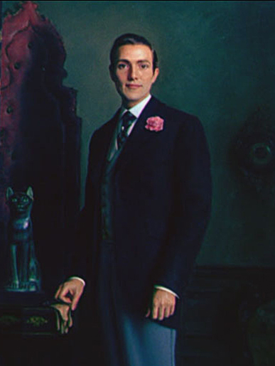 Picture of Dorian Gray by Ivan Le Lorraine Albright, as Basil Hallward